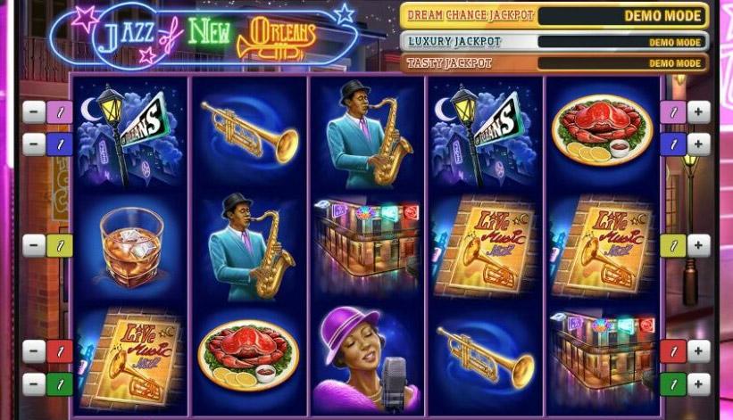Du jazz au casino